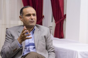 Dr. Maher Samuel, in his Alexandria office, talks about the impact of prayer on Egypt's revolution and aftermath.