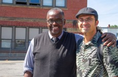 Pastor Juri Ammari (right) of Metro Alliance Church, with Pastor Ron Morrison of Hope Alliance Bible Church of nearby Maple Heights, Ohio.